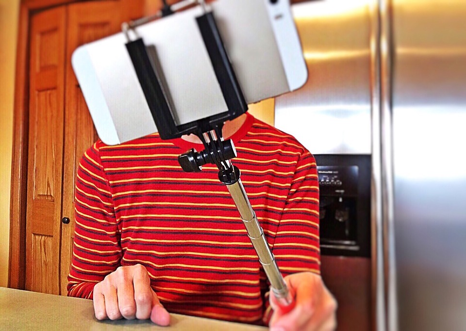 Primul Selfie Stick
