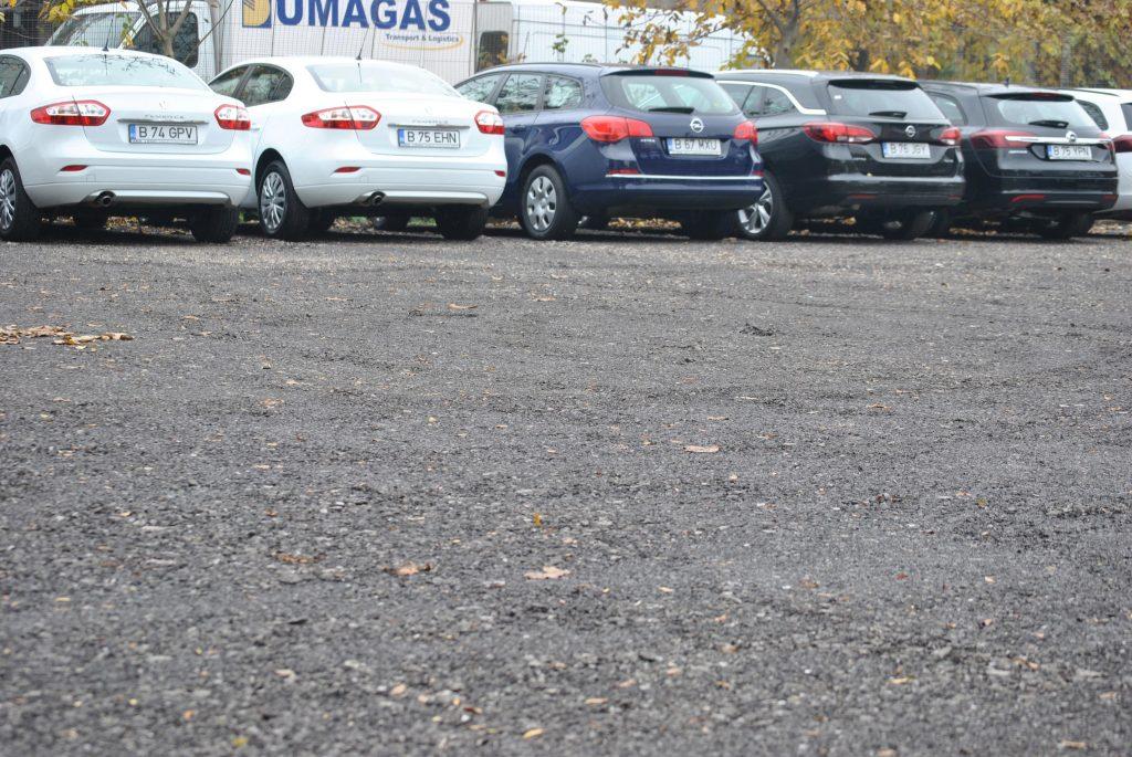 Conditii in parcarea privata Autofeu